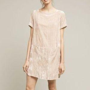 Anthro Floret velvet dress